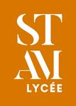 STAM_Logo_Lycée_fondcouleur